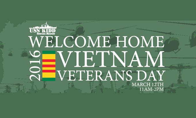Welcome Home Vietnam Veterans Day
