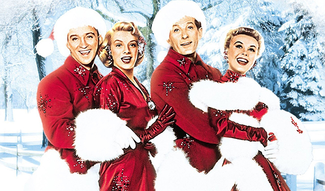 wine tasting dinner and a movie with white christmas and stroubes seafood and steaks - The Movie White Christmas