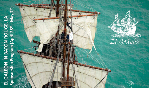 PORT VISIT OF SPANISH GALLEON EL GALEON ANDALUCIA