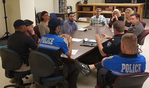COMMUNITY POLICING MEETING