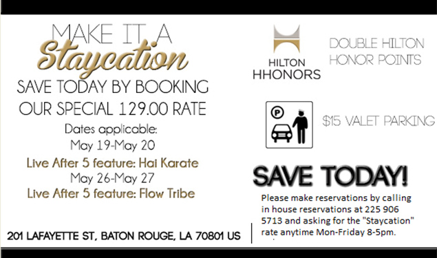 Hilton Staycation (Special Rates)