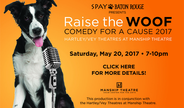 RAISE THE WOOF! COMEDY FOR A CAUSE 2017