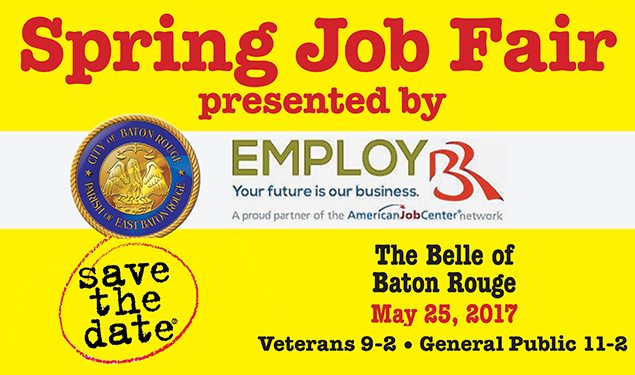 SPRING JOB FAIR PRESENTED BY EMPLOY BR