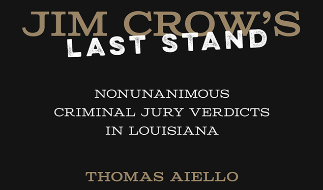 HERITAGE LECTURE: JIM CROW'S LAST STAND