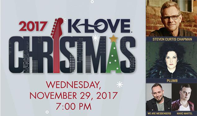 k love christmas tour 2017