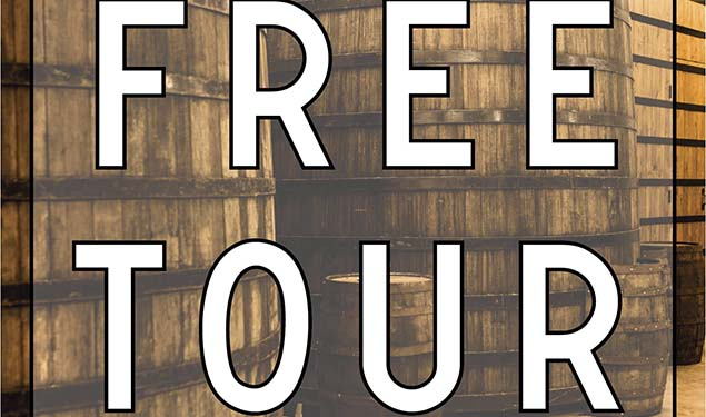 FREE SATURDAY DISTILLERY TOURS