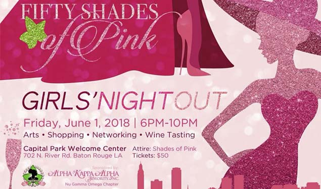 50 SHADES OF PINK - GIRLS' NIGHT OUT