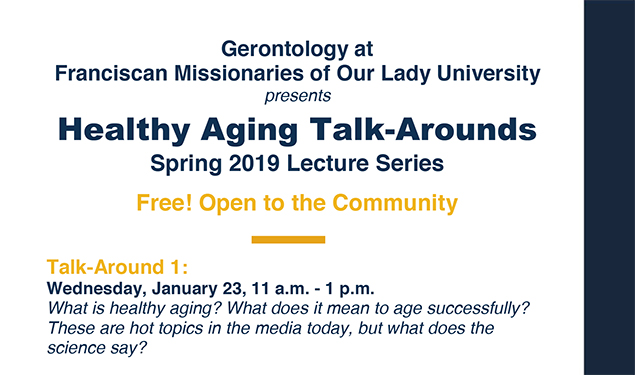 HEALTHY AGING TALK-AROUNDS