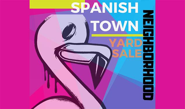 Spanish Town Neighborhood Yard Sale